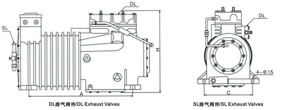 谷轮压缩机结构图