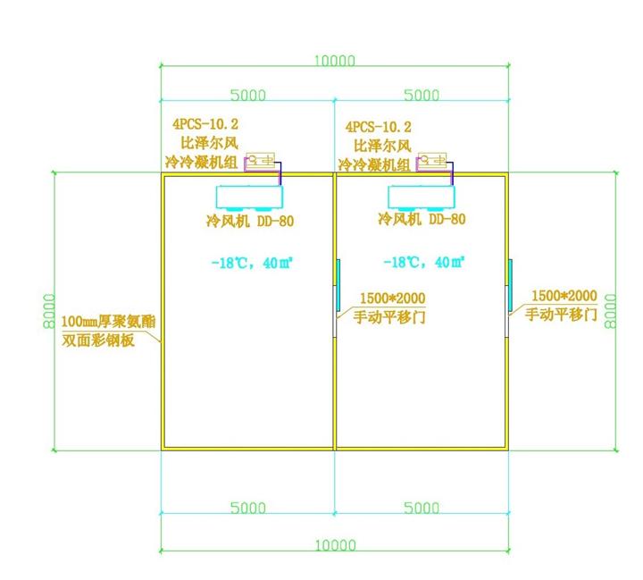 冷库结构图纸